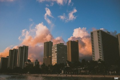waikiki photographer sunset