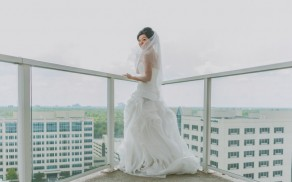 Westin Memorial Wedding Photographer