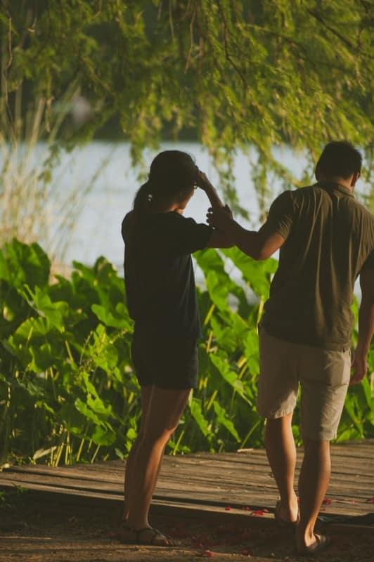 My Own Lady Bird lake Proposal
