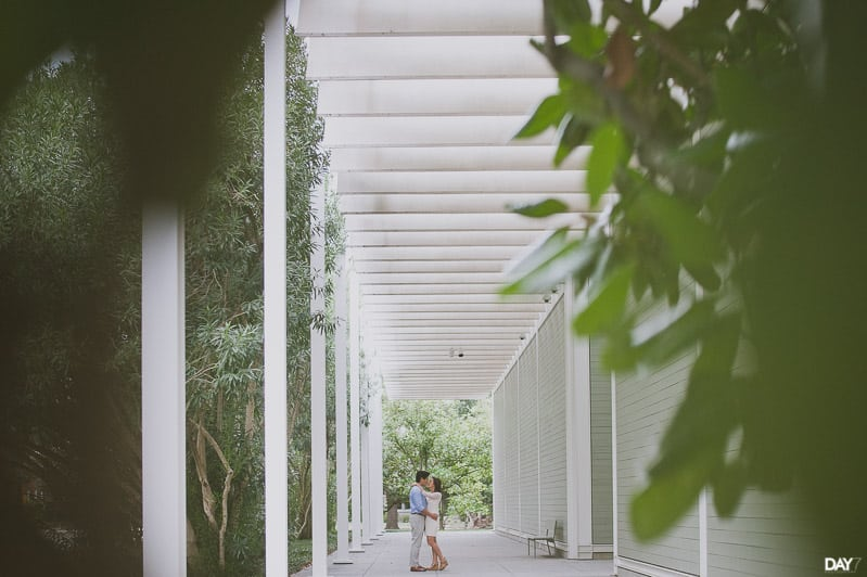 menil collection engagement session