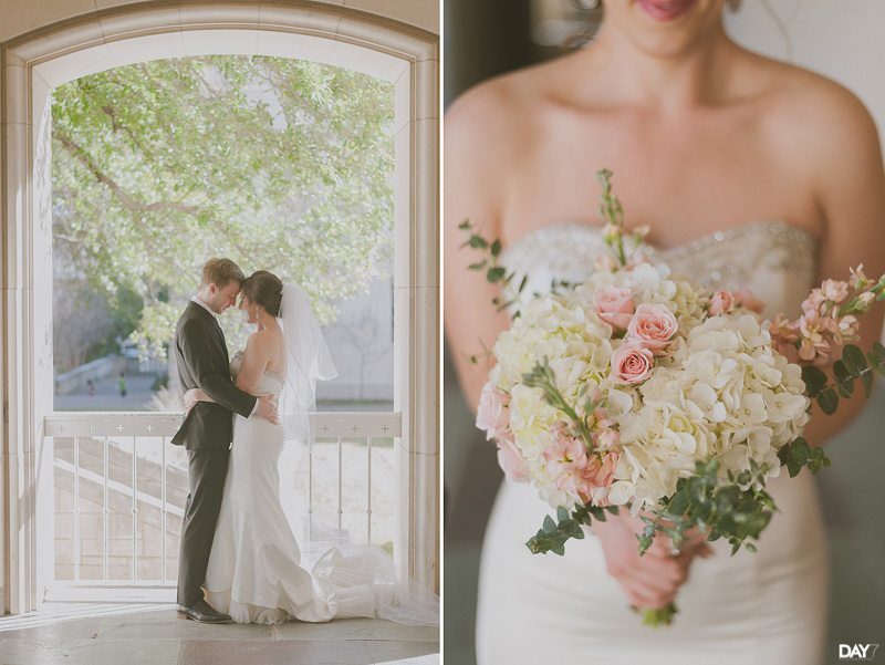 university of texas campus wedding photos