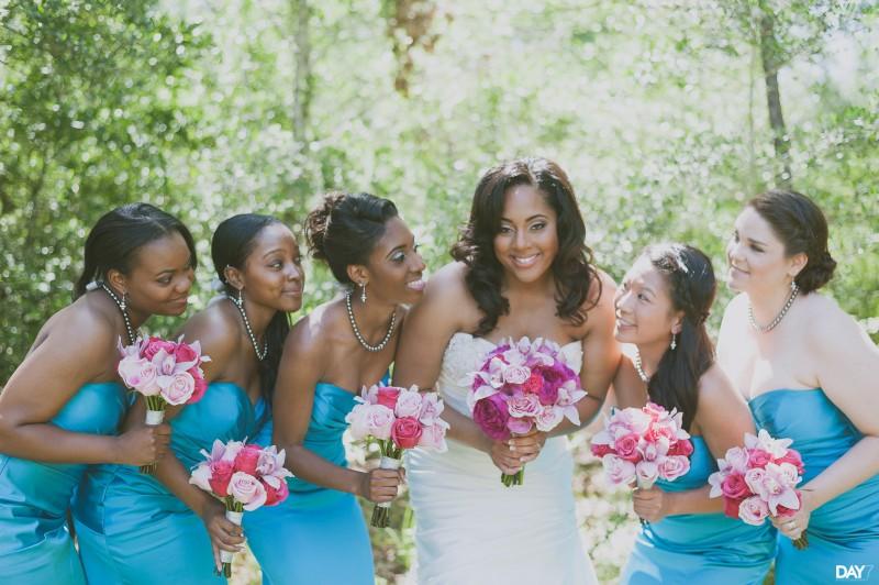 Houston Wedding Photographer Bridal Party Portraits