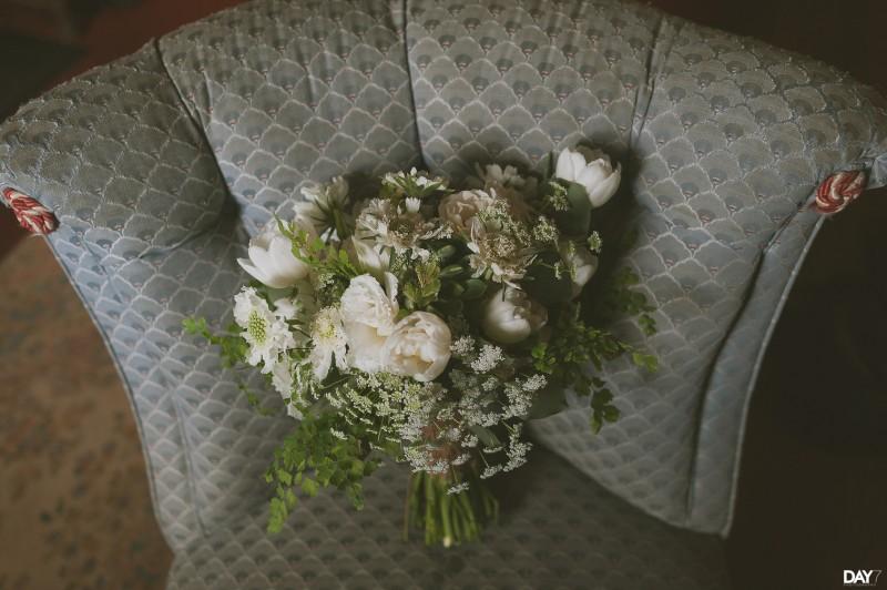 Organic Wedding at Barr Mansion