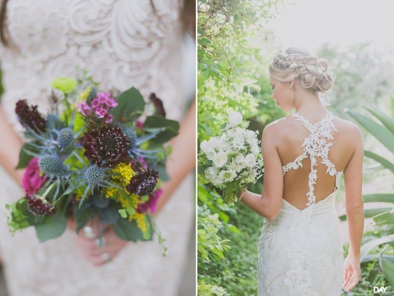 Floral Arrangement by Stems Floral Design at Barr Mansion