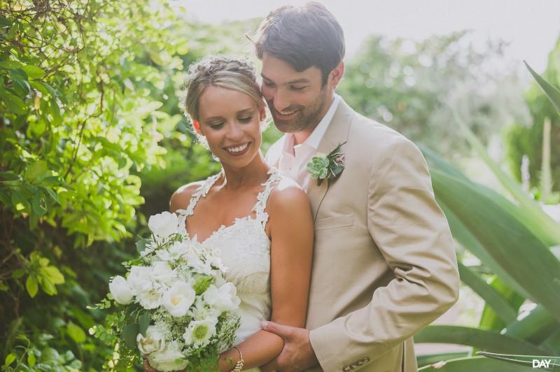 Wedding Portraits and Floral Arrangement by Stems Floral Design at Barr Mansion