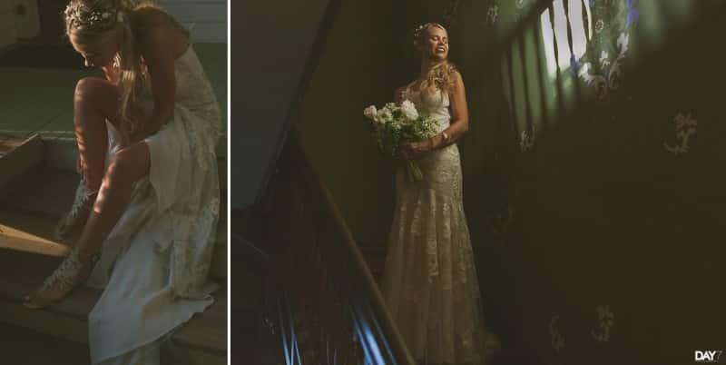 Wedding Portraits at Barr Mansion