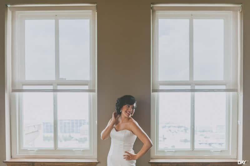 Bridal Portraits at Magnolia Hotel