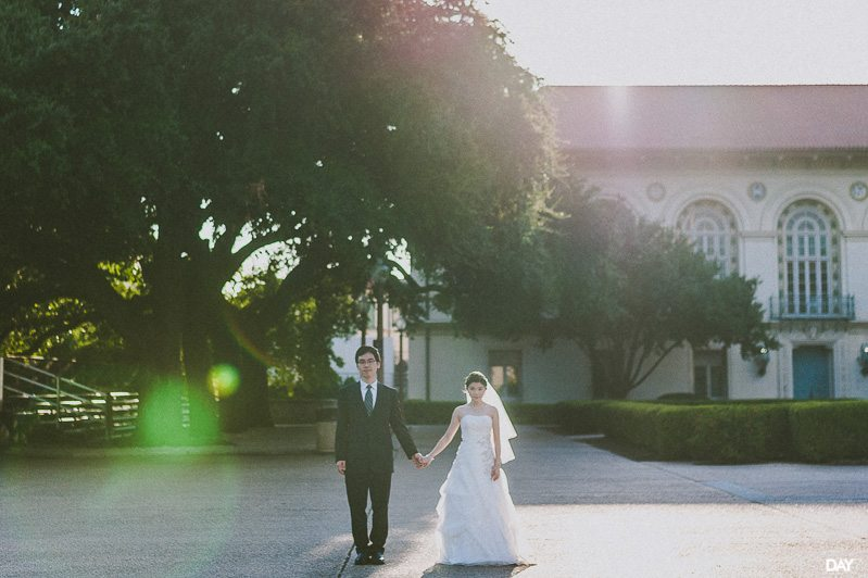 University of Texas Wedding Photos