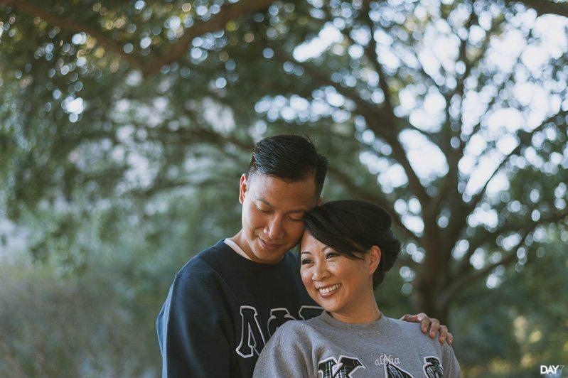 UH engagement photographer