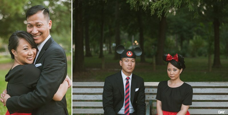 Hermann Park Engagement Photos