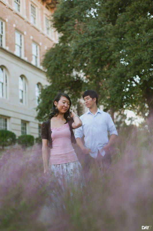 UT Austin Engagement Photographer