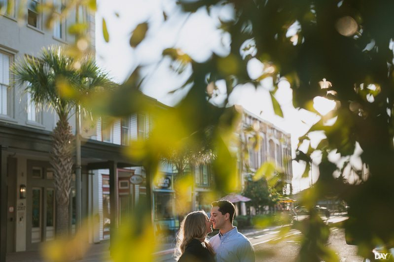 Downtown Galveston Engagement Photographer