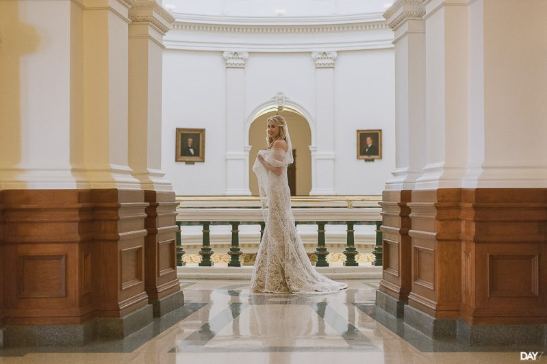 State Capitol Bridal Photos