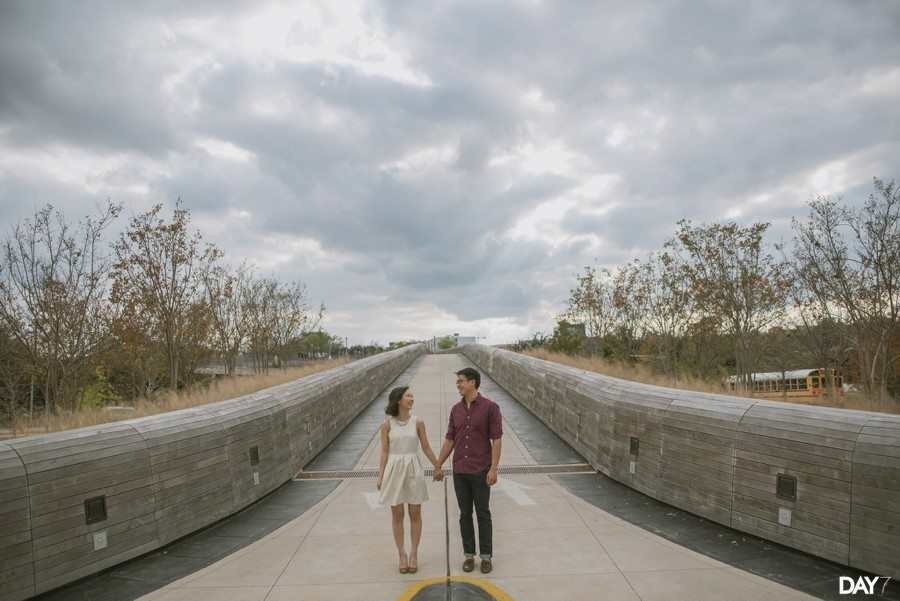 Lady Bird Lake Engagement Photos