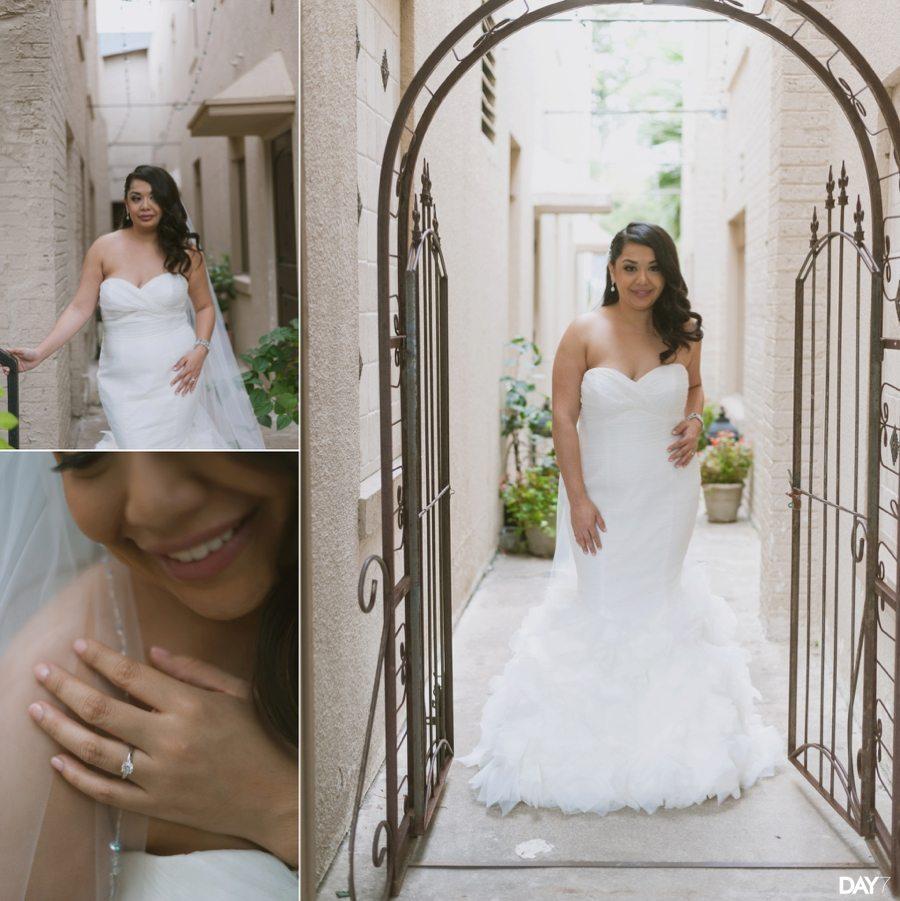 Heights Villa Houston Bridal Photos