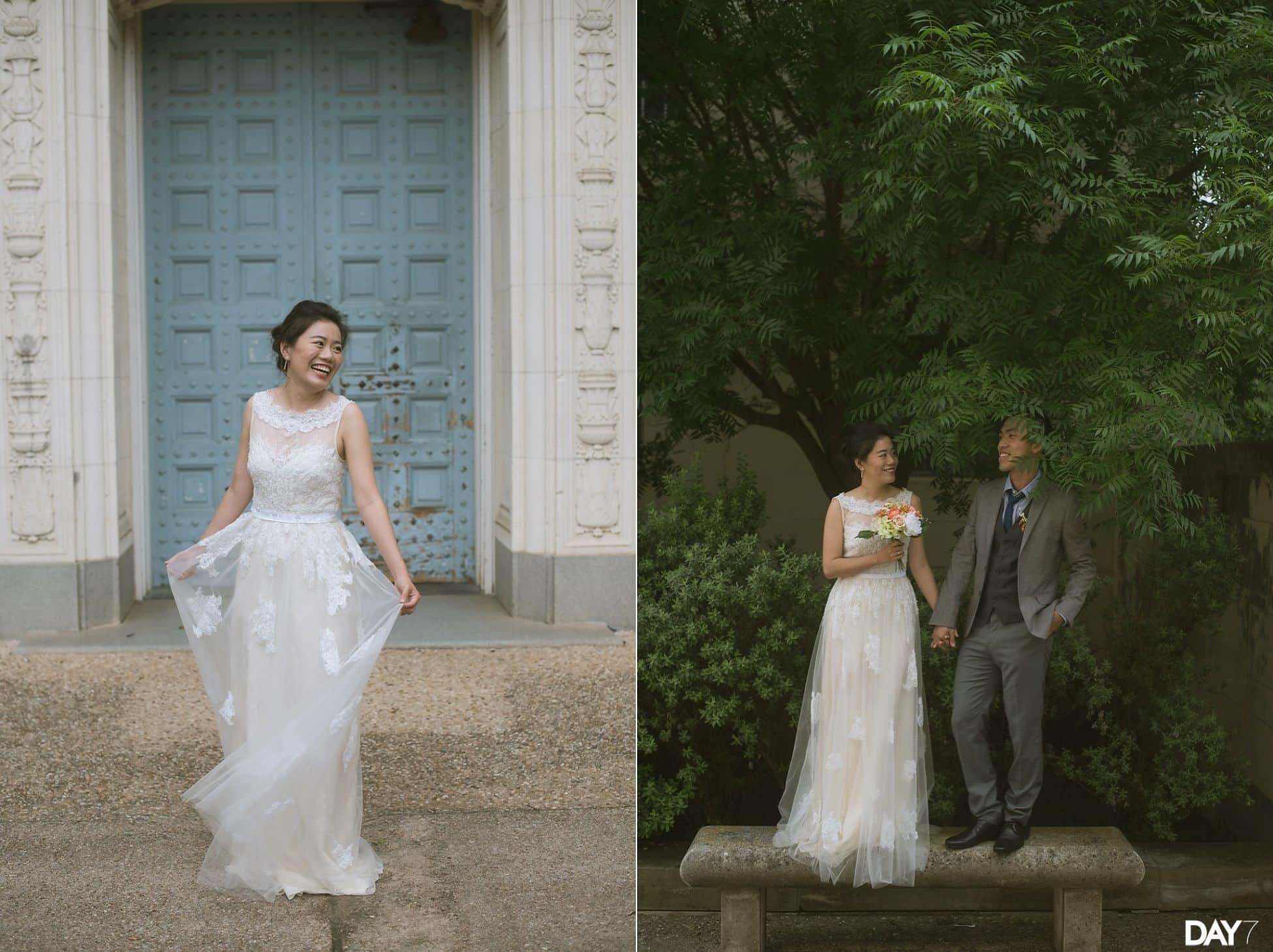 University of Texas Wedding Portraits