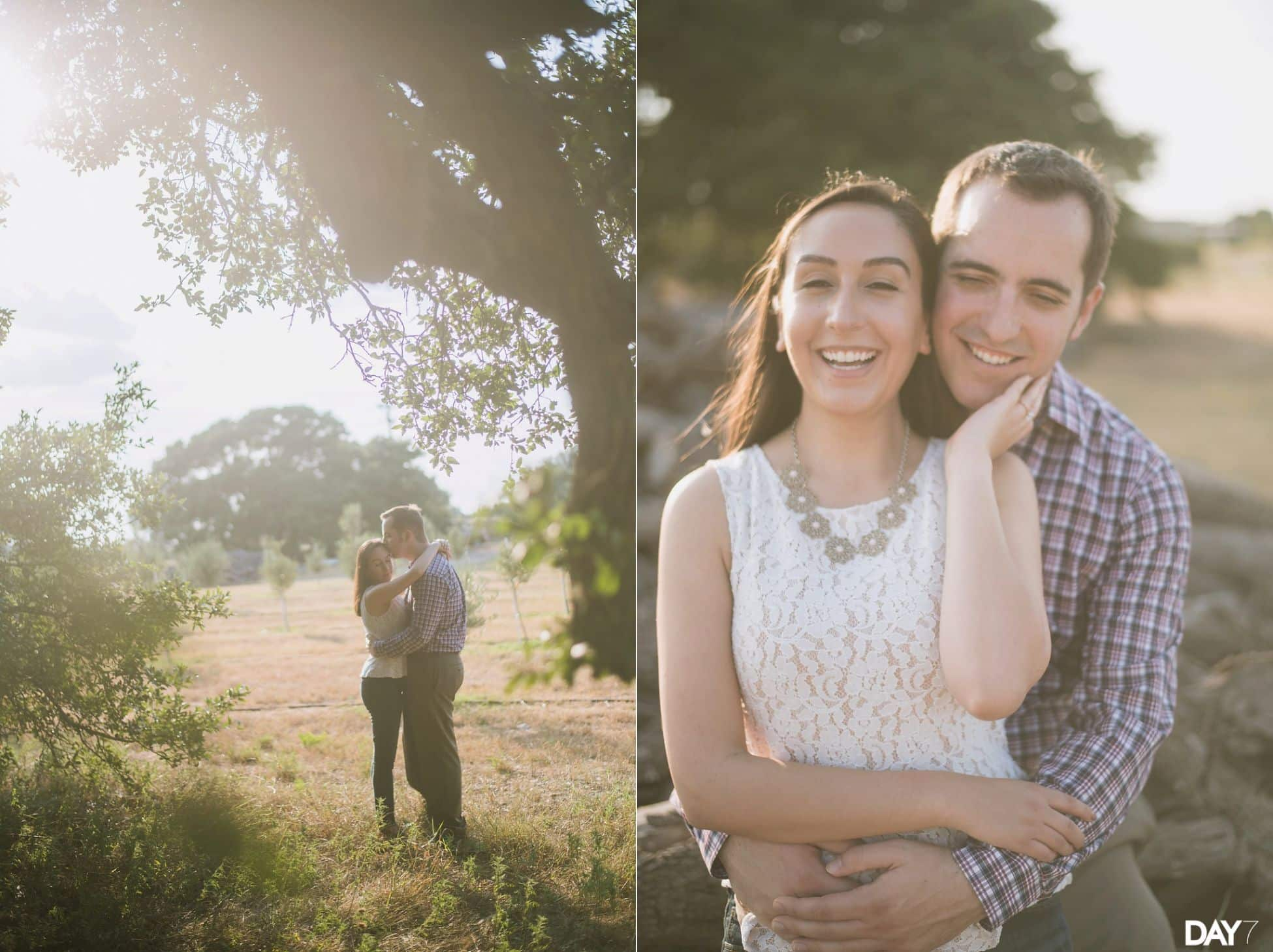 Texas Hill Country Olive Company Engagement Photos