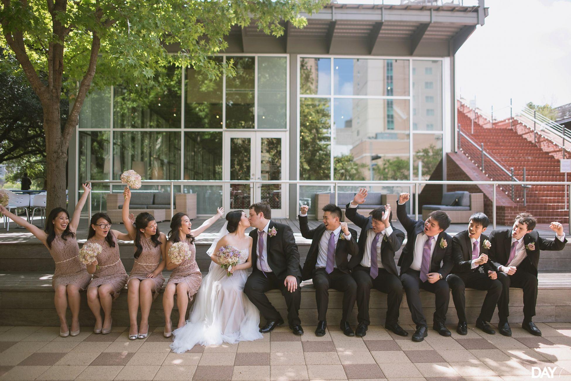 Wedding Portraits At The Grove Restaurant Houston