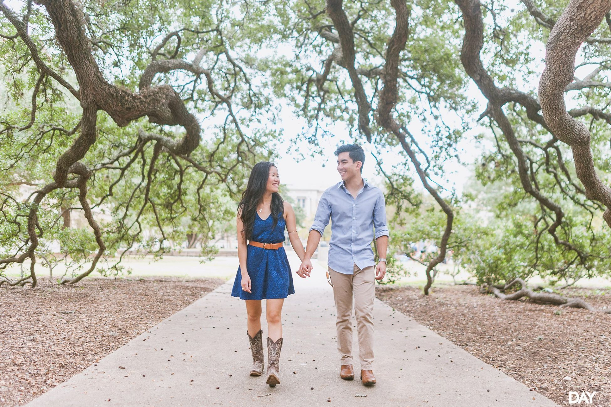 College Station Engagement Photos