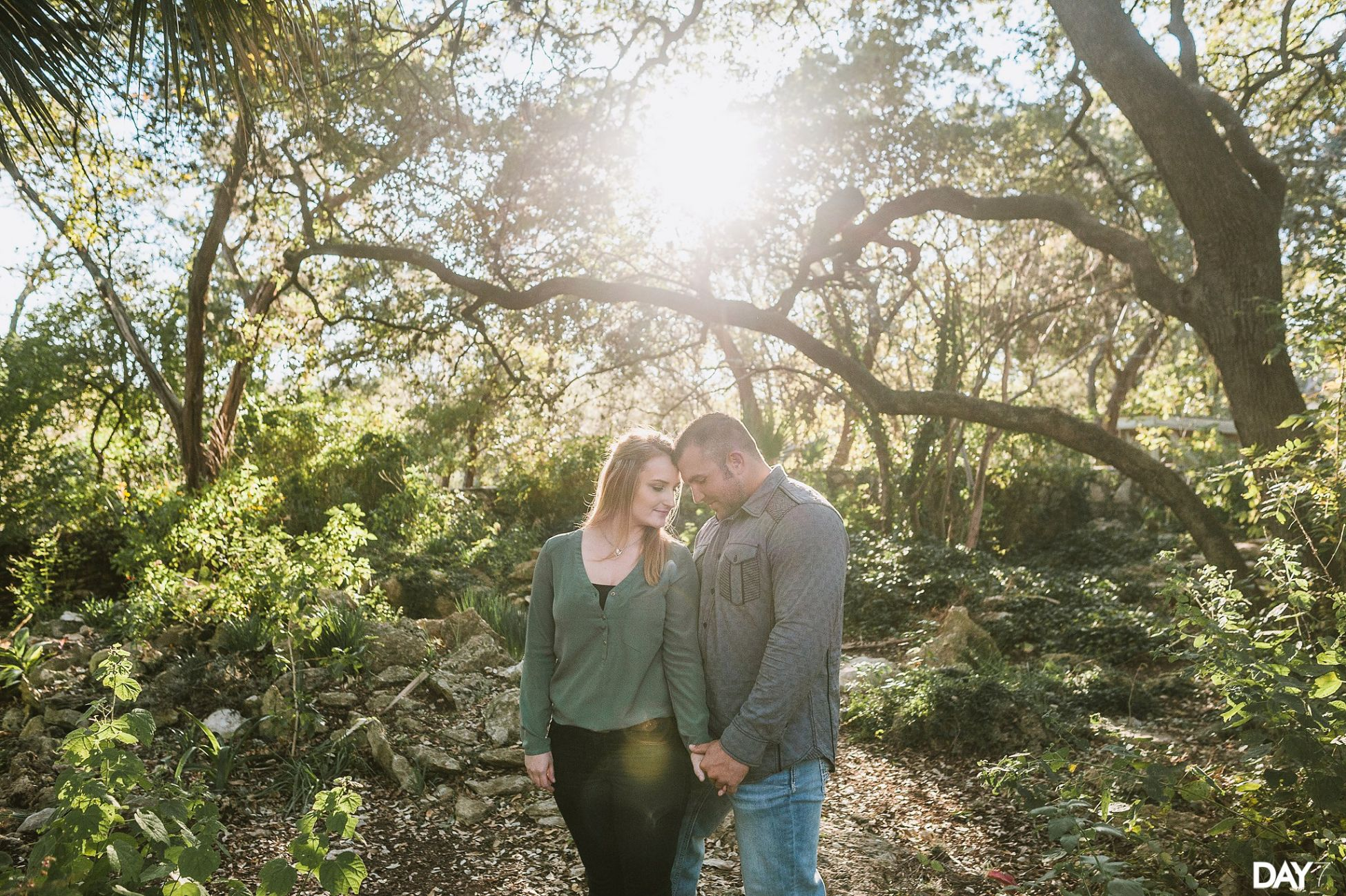 Mayfield Park Engagement Photos