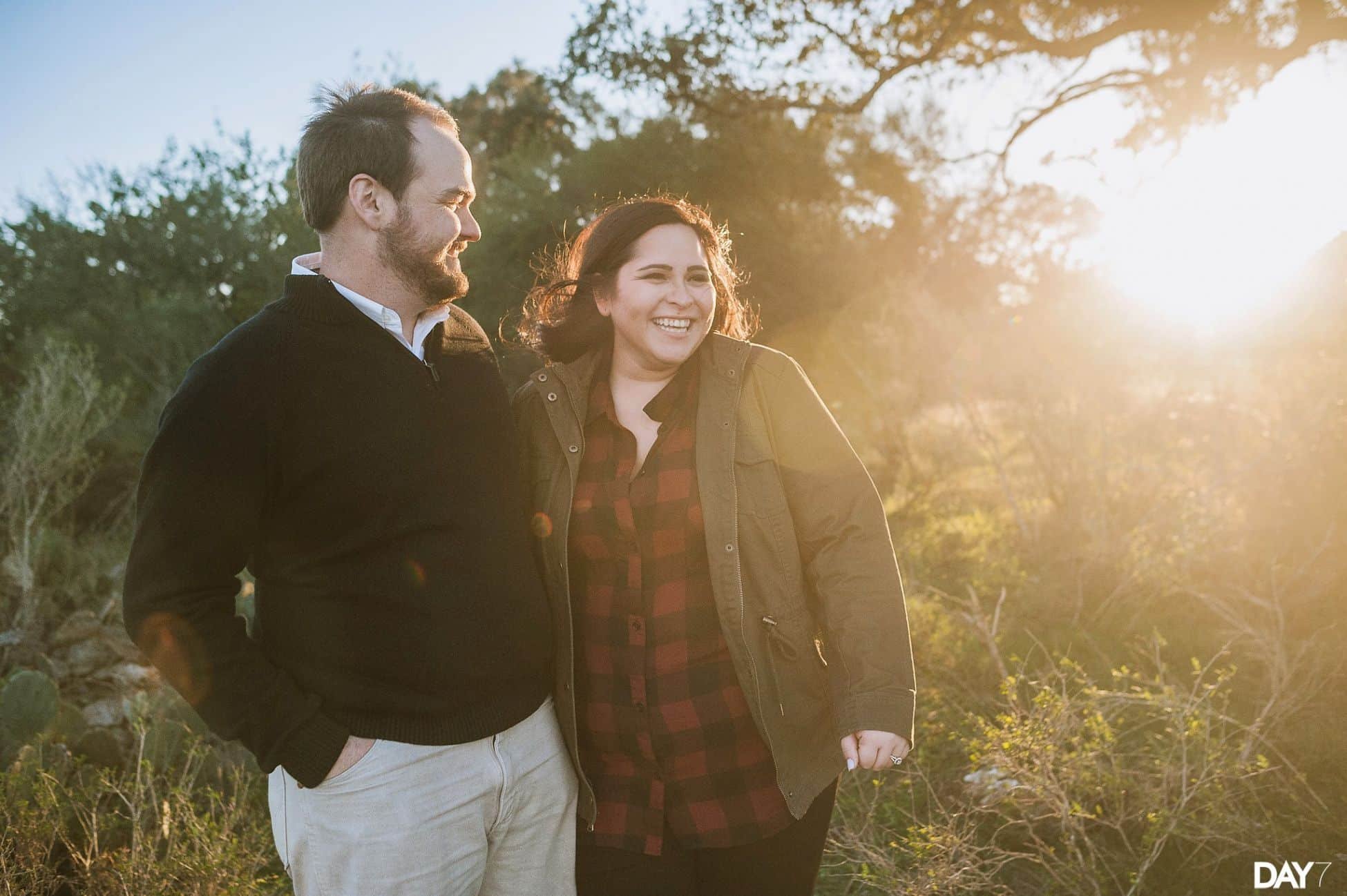 San Marcos Engagement Photos