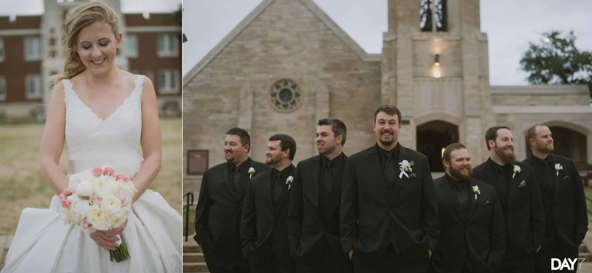 Belltower Chapel and Garden Wedding Photos