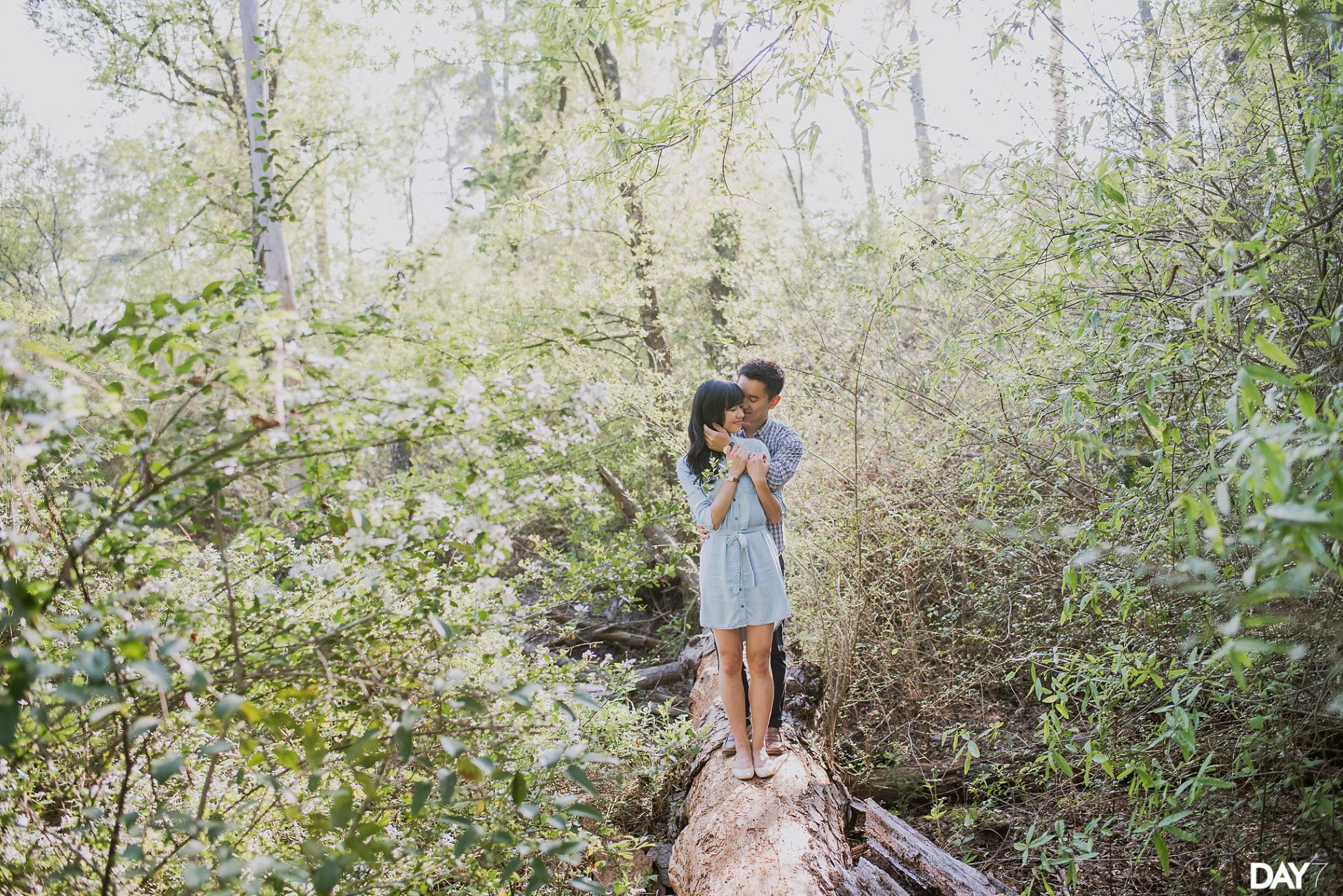 Houston Arboretum Engagement Photos