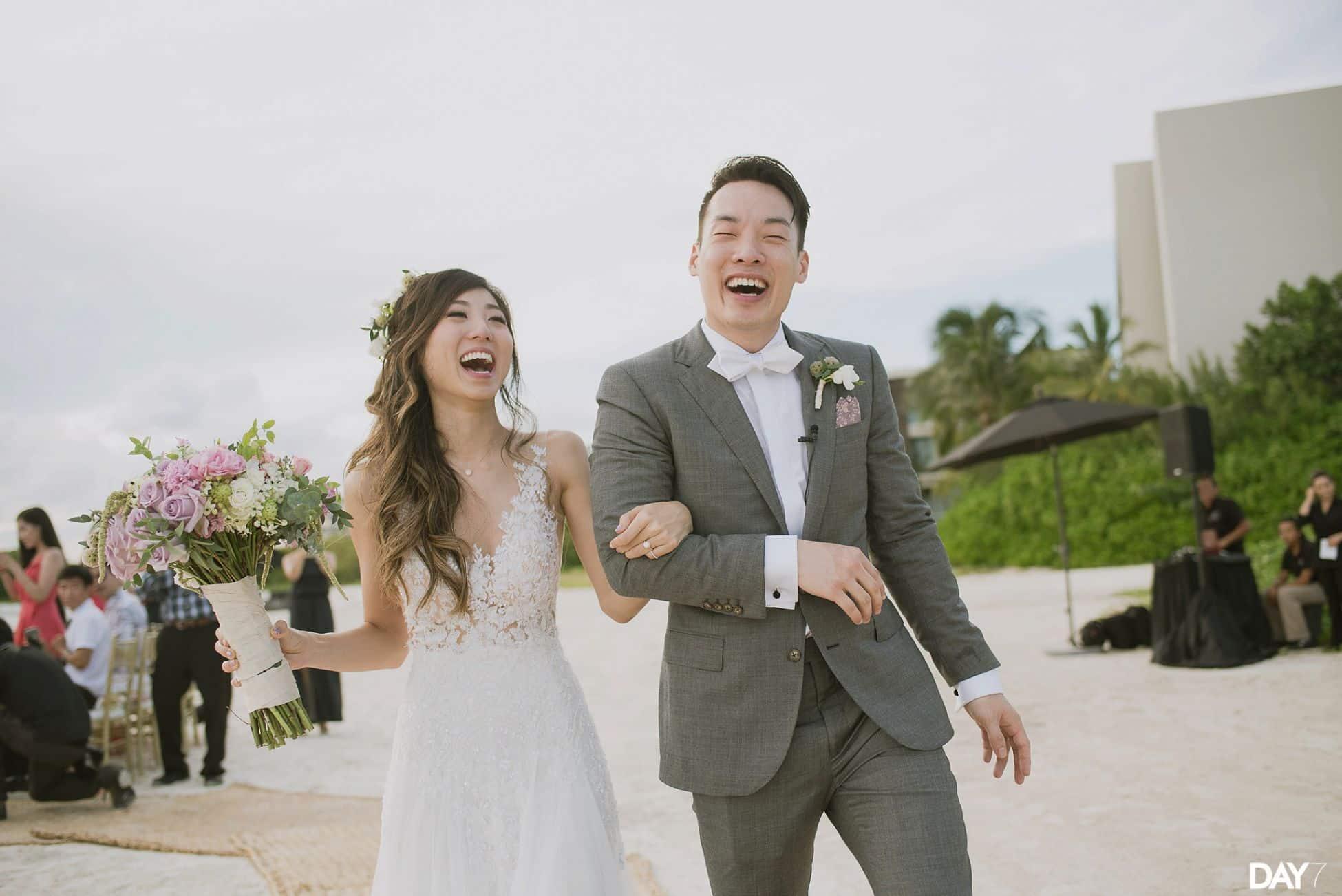 Nizuc Resort and Spa Wedding Photos
