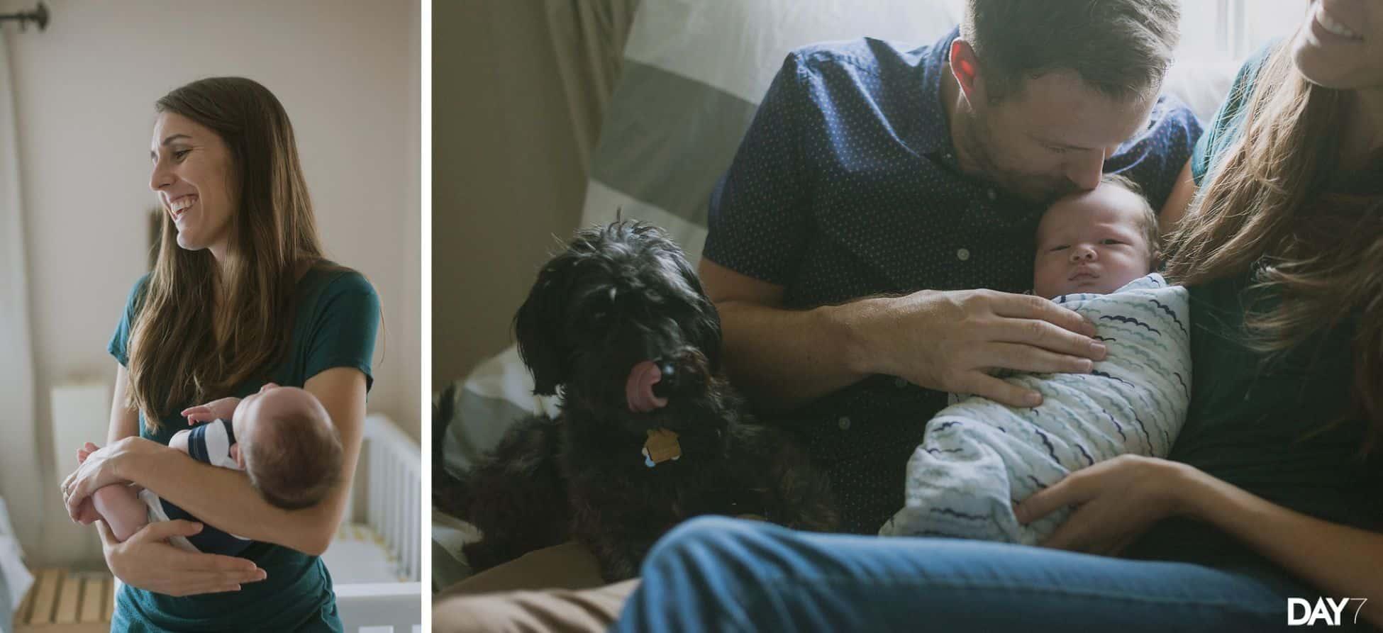 Austin Newborn Lifestyle Portraits