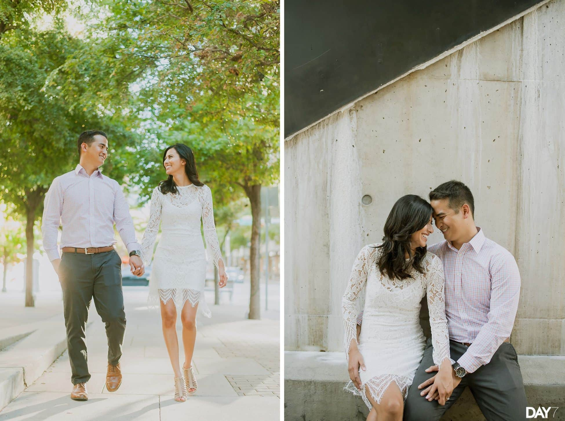 2nd Street Downtown Austin Engagement Photos