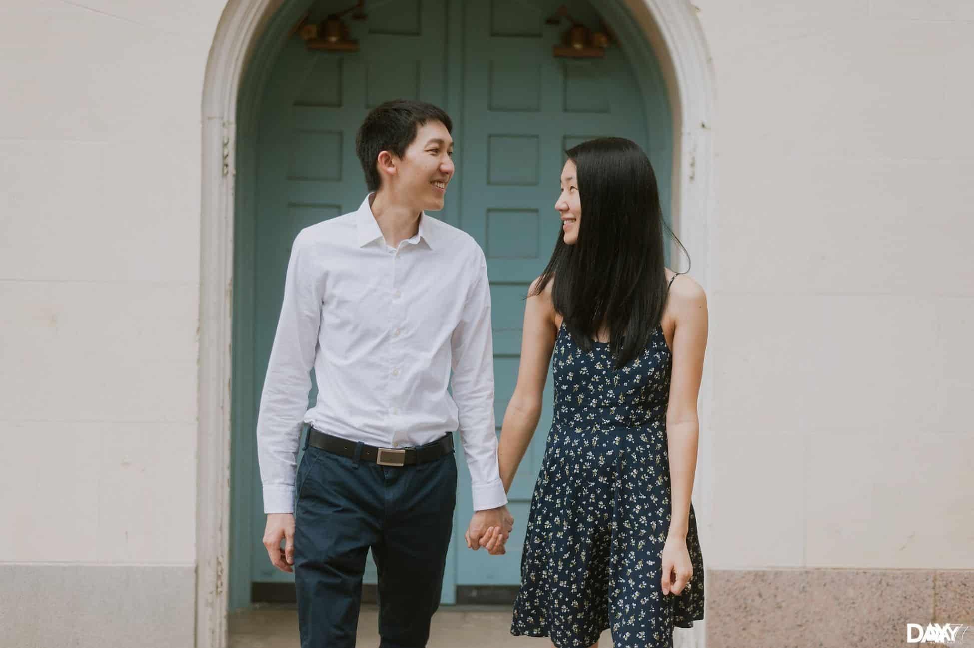 University of Texas Engagement Photographer