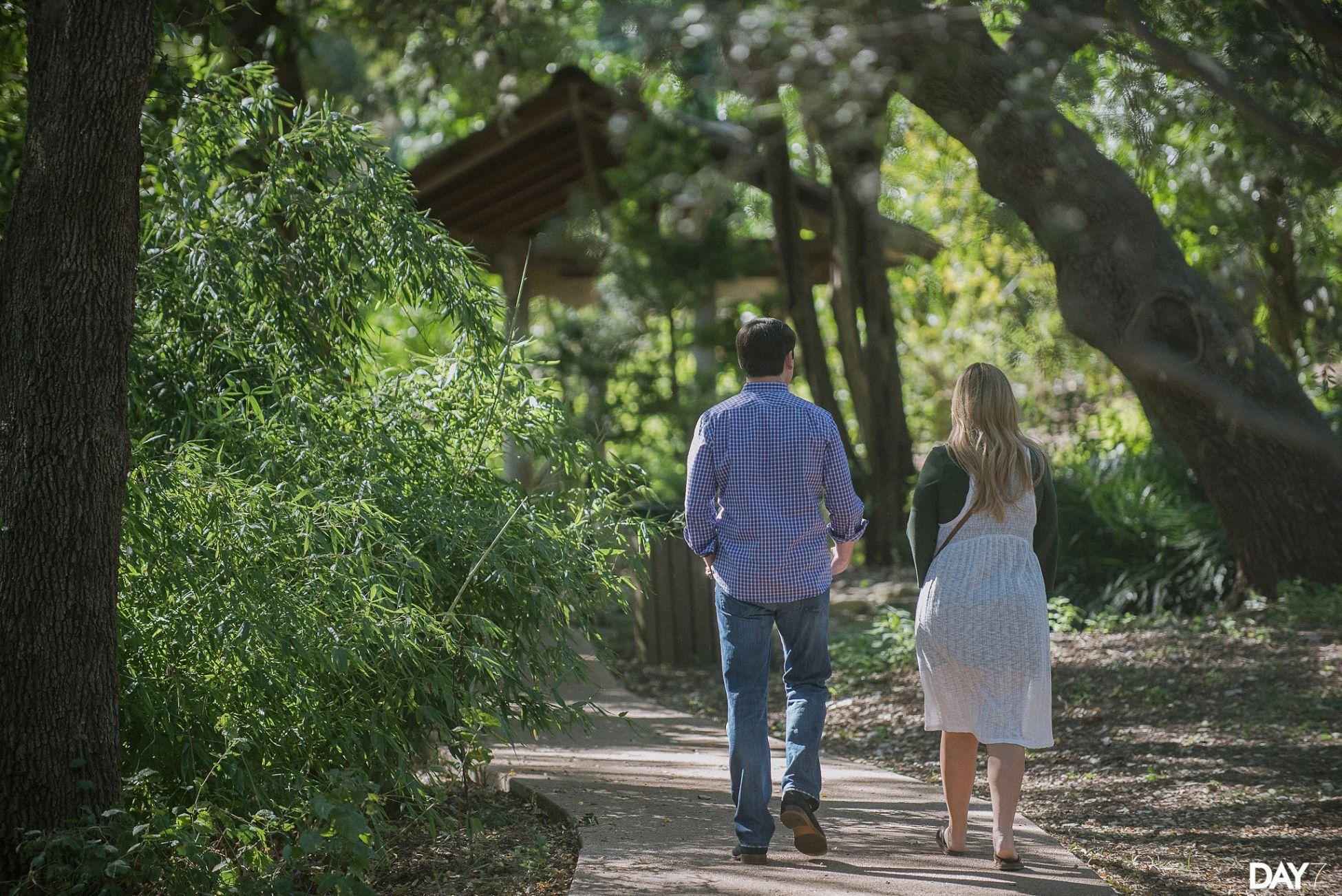 Zilker Botanical Garden Proposal Photos