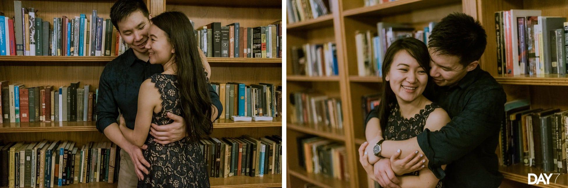 Rice University Engagement Photographer