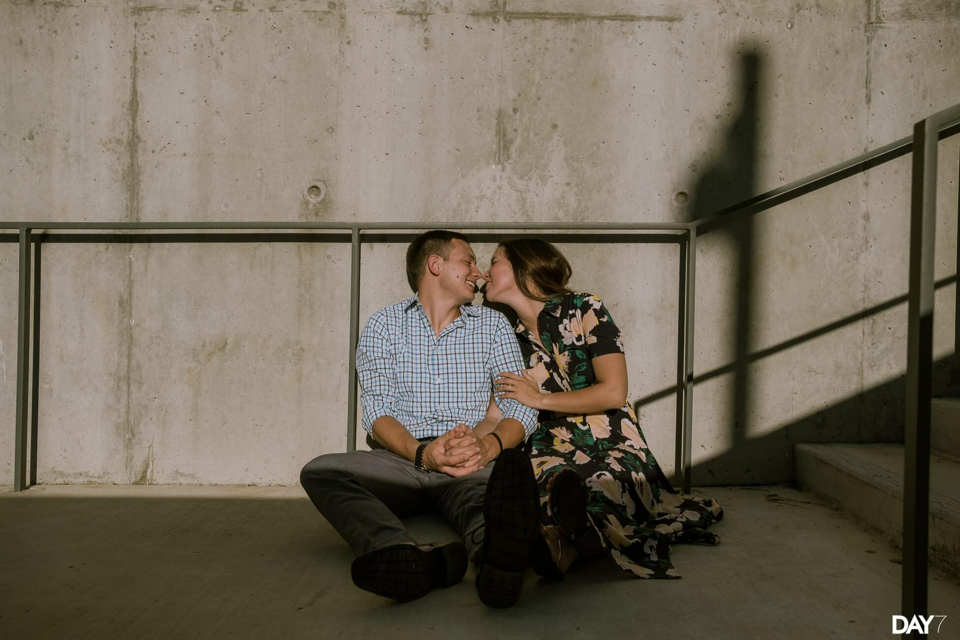 Seaholm Powerplant Engagement Photographer