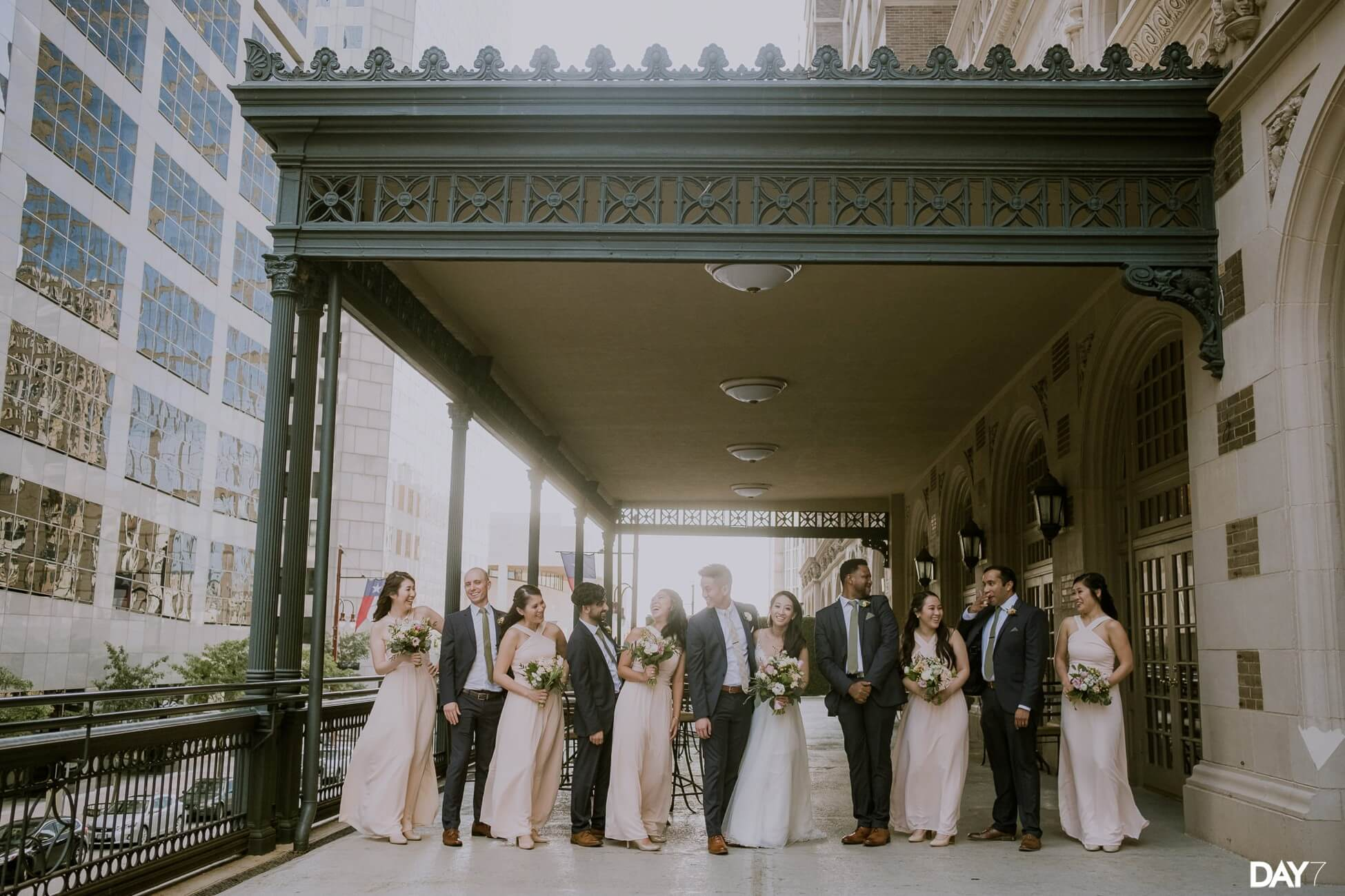 Crystal Ballroom Houston Wedding Photos
