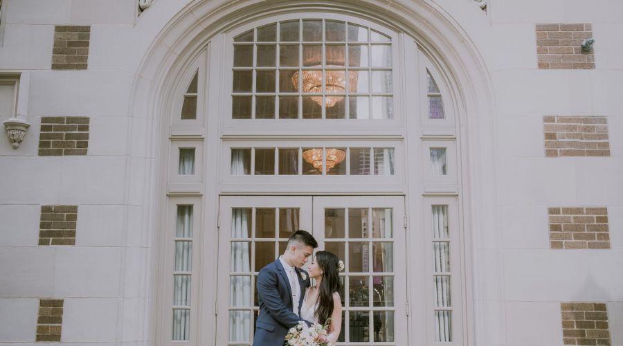 Wedding at Crystal Ballroom Houston