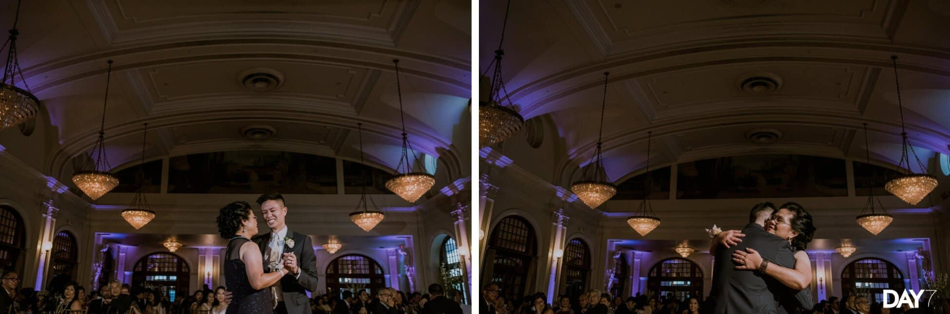 Crystal Ballroom at the Rice Wedding