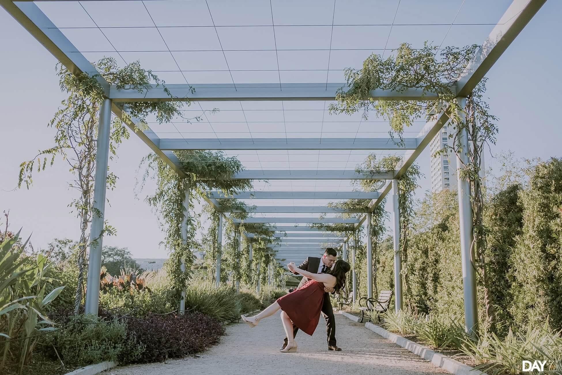 McGovern Centennial Gardens Engagement Photographer