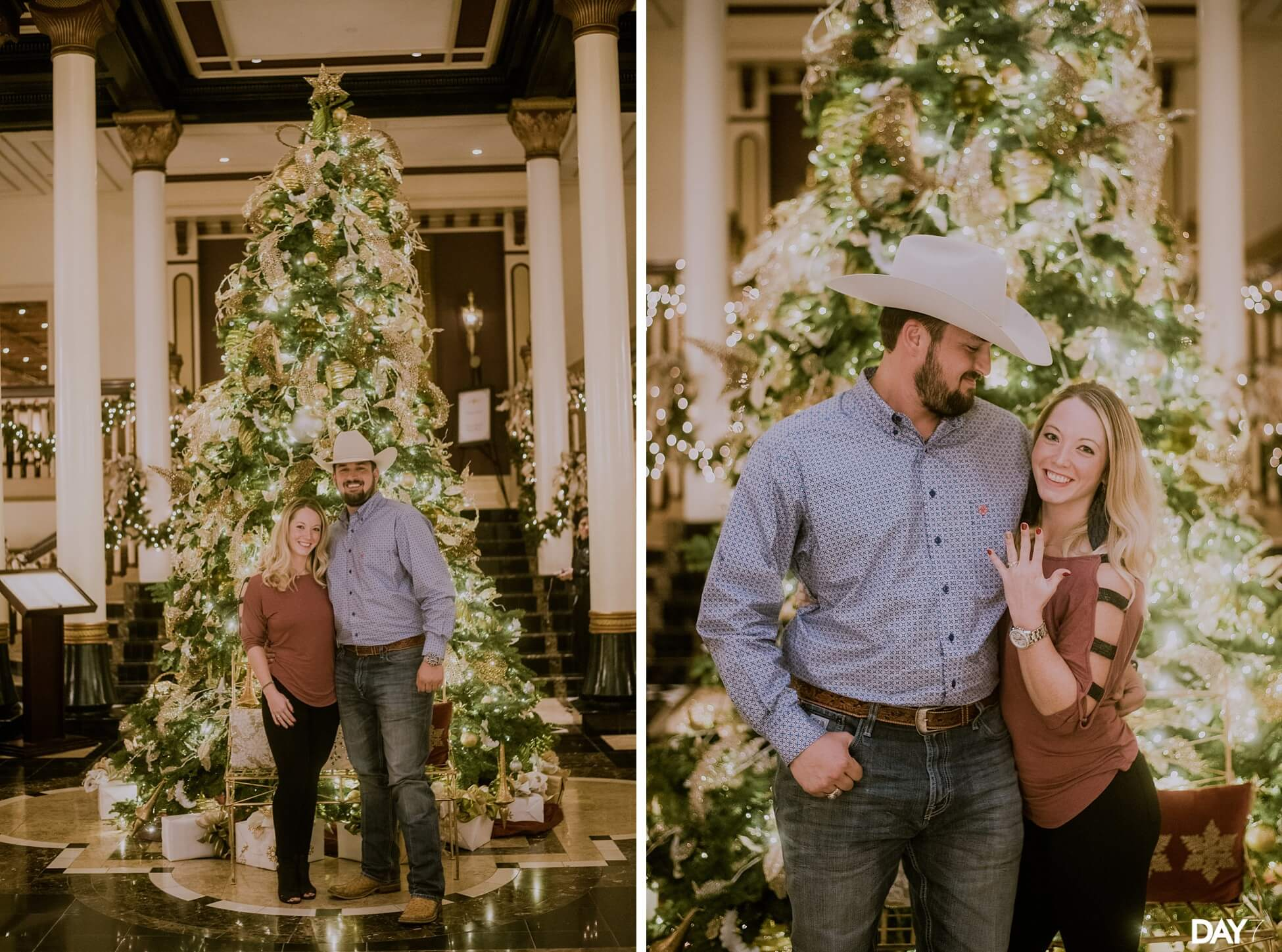 Driskill Hotel Proposal Photographer