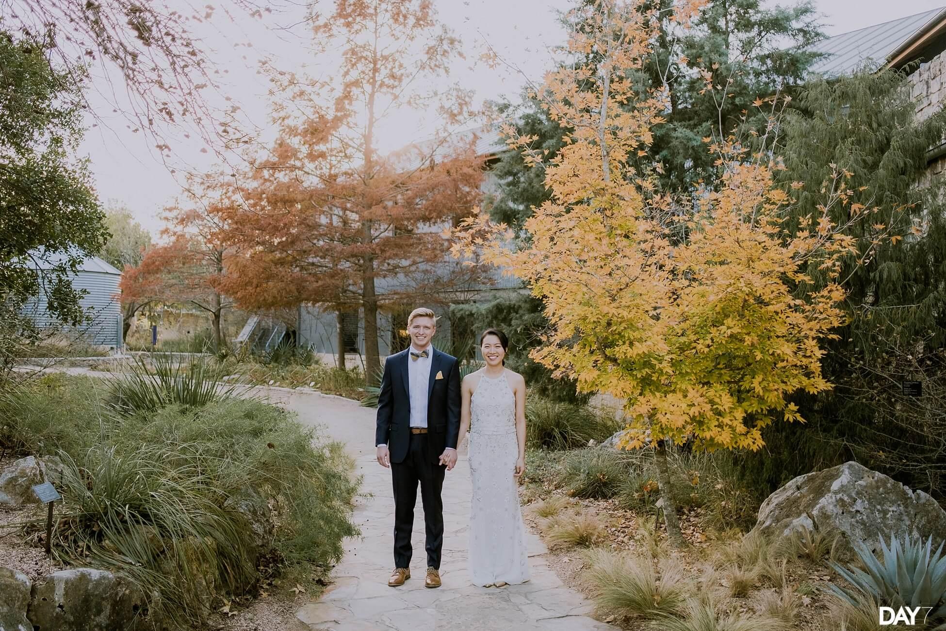 LBJ Wildflower Center Wedding Photographer
