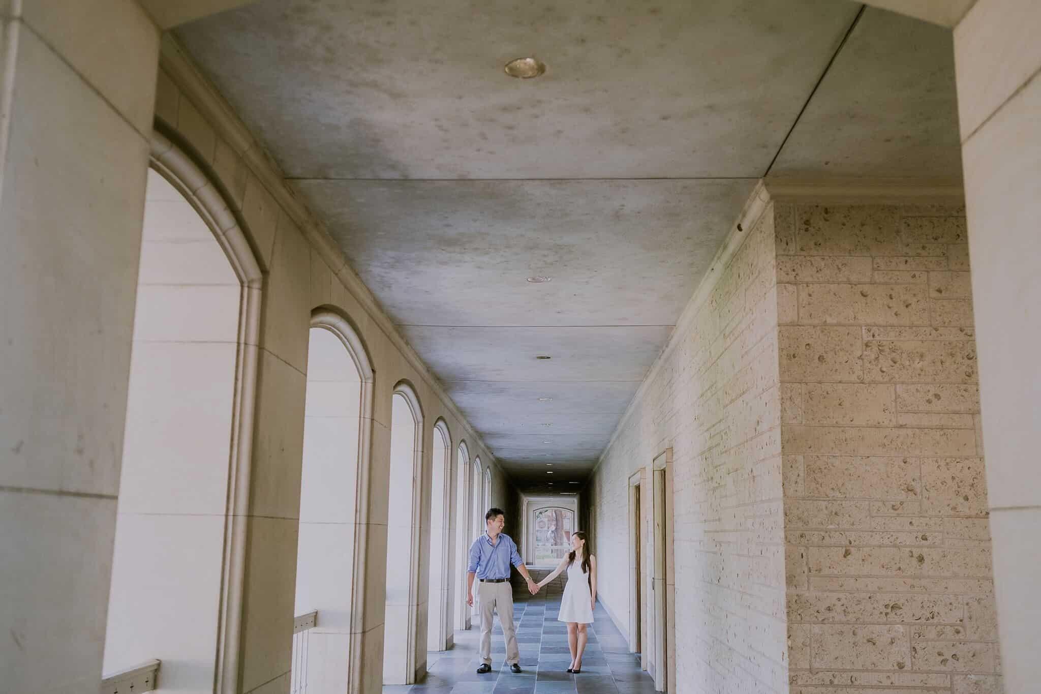 University of Texas Engagement Photography