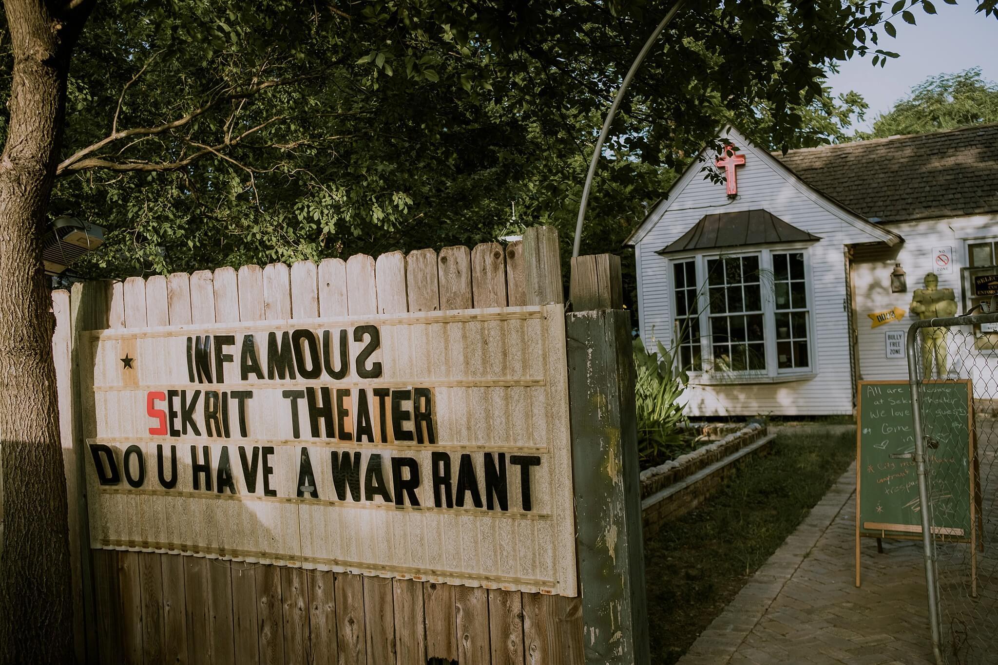 Sekrit Theater Proposal Photographer