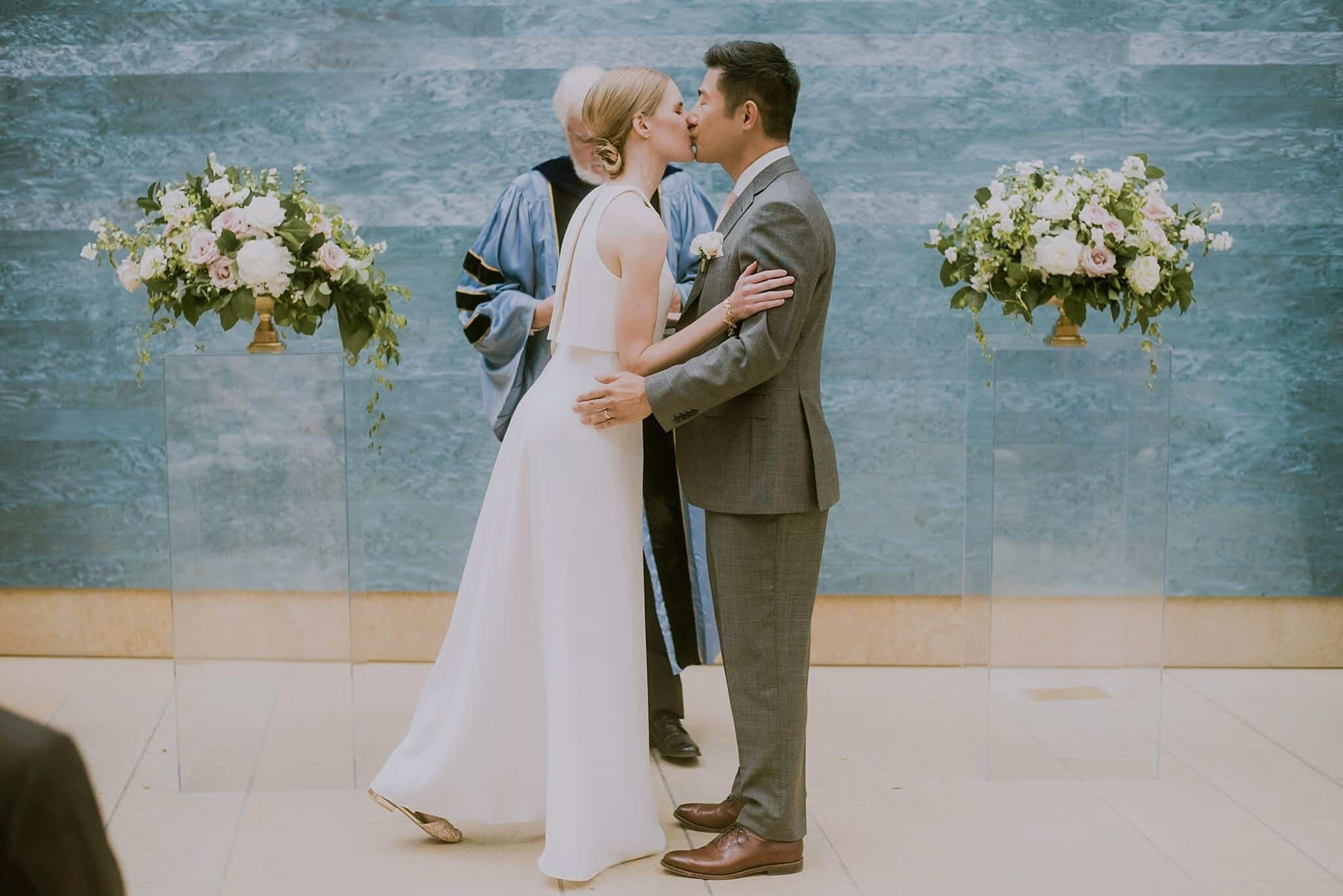 Blanton Museum Austin Wedding Photography