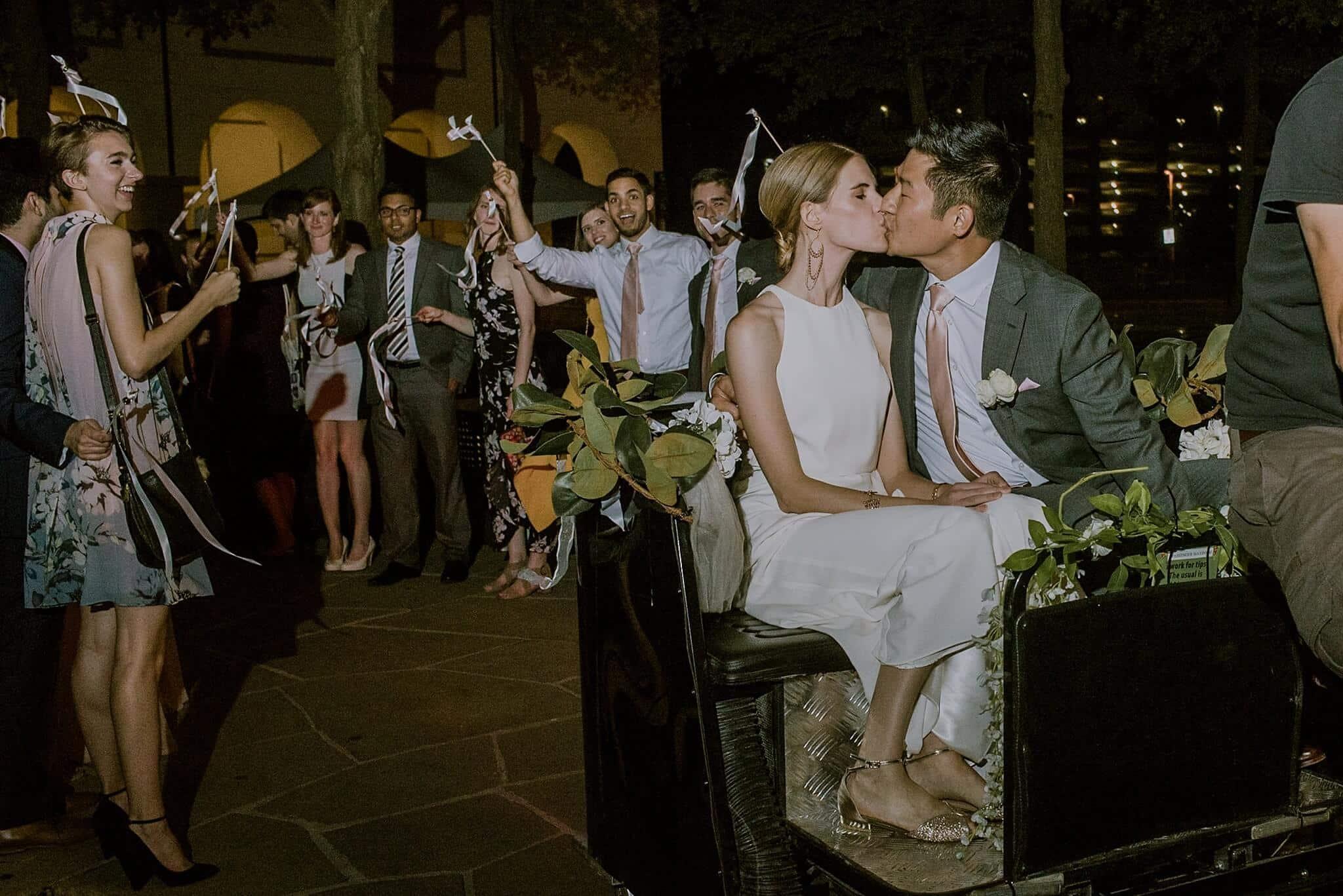 Blanton Museum Austin Wedding Photography