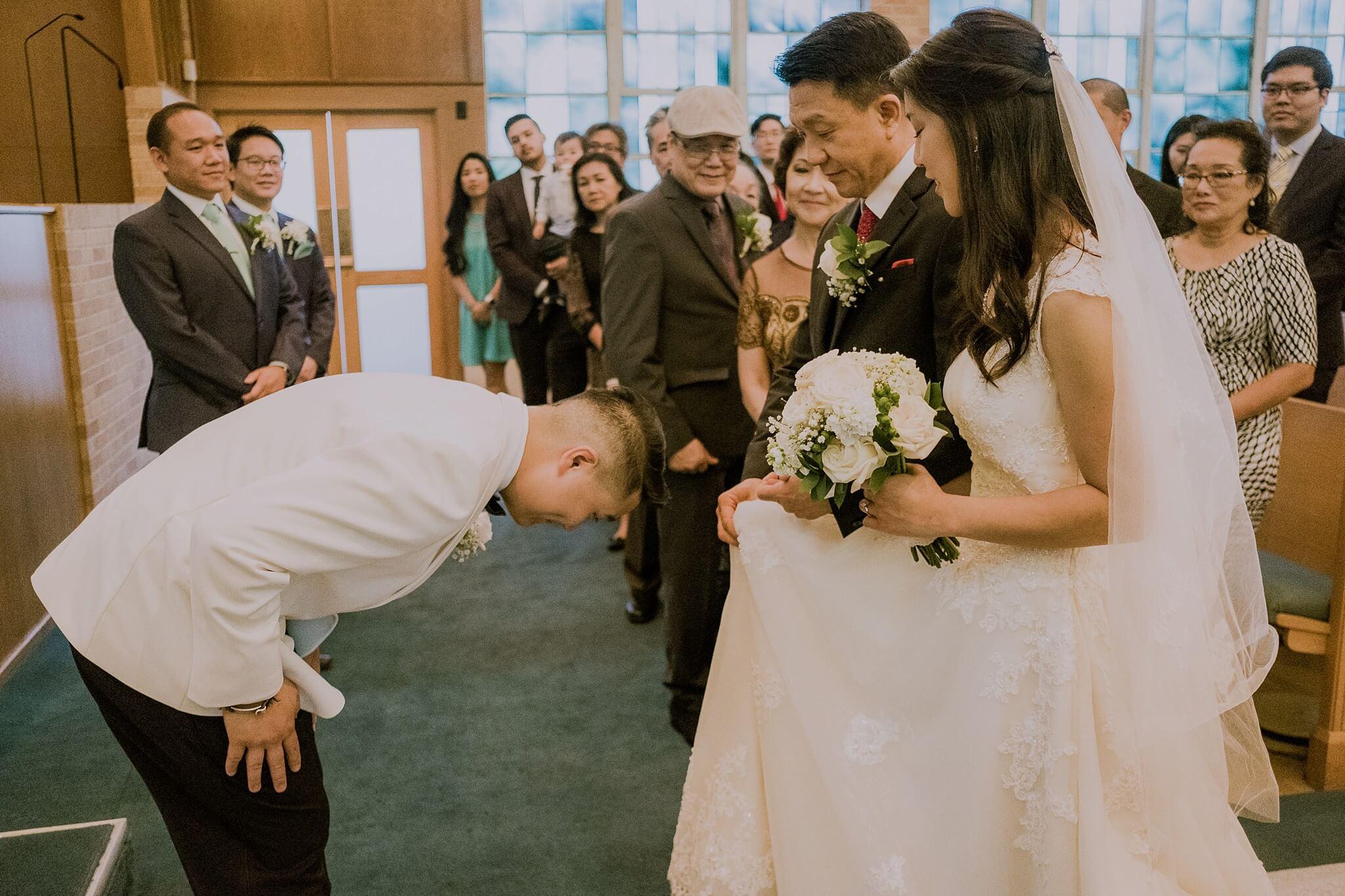 Highland Park Baptist Church Wedding Photos