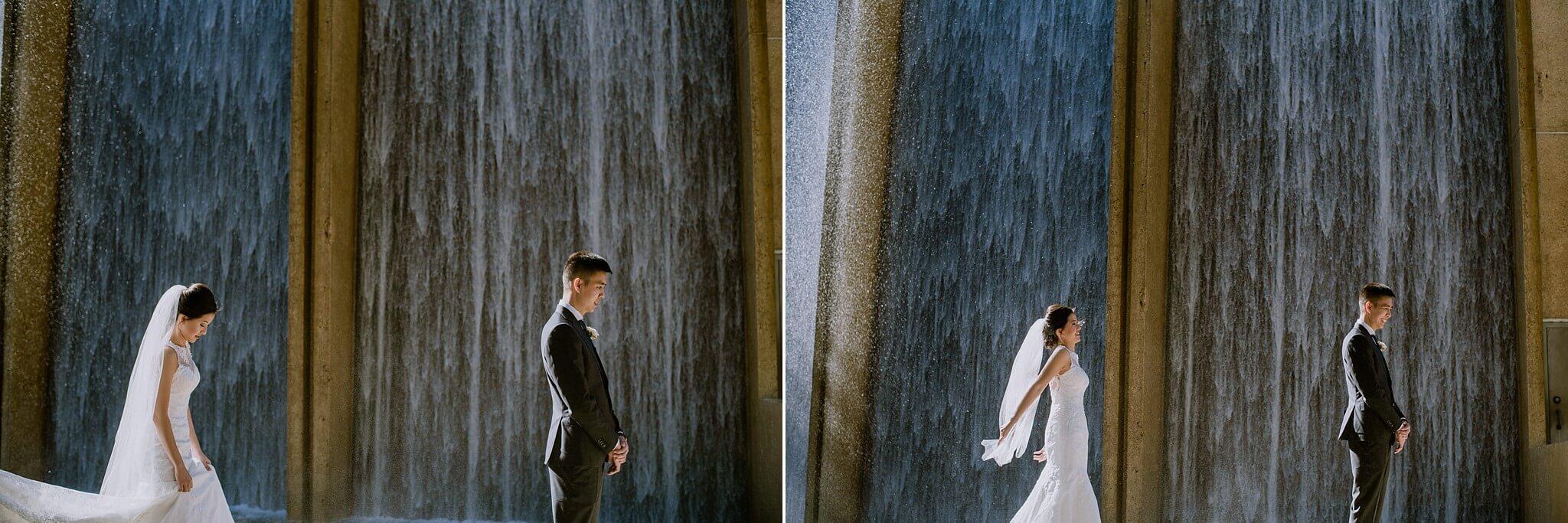 Waterwall Houston Wedding Photos