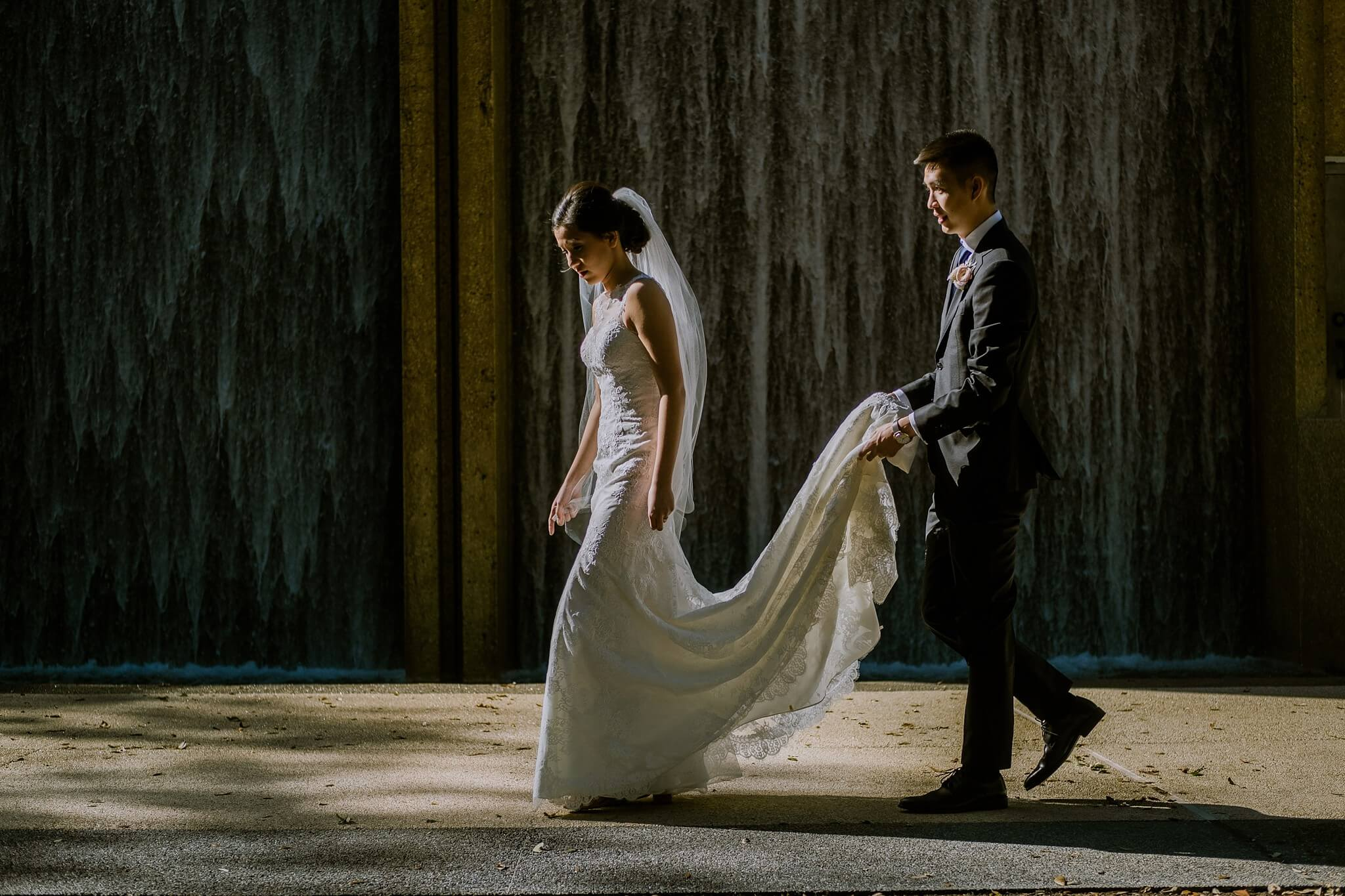 Waterwall Houston Wedding Photos