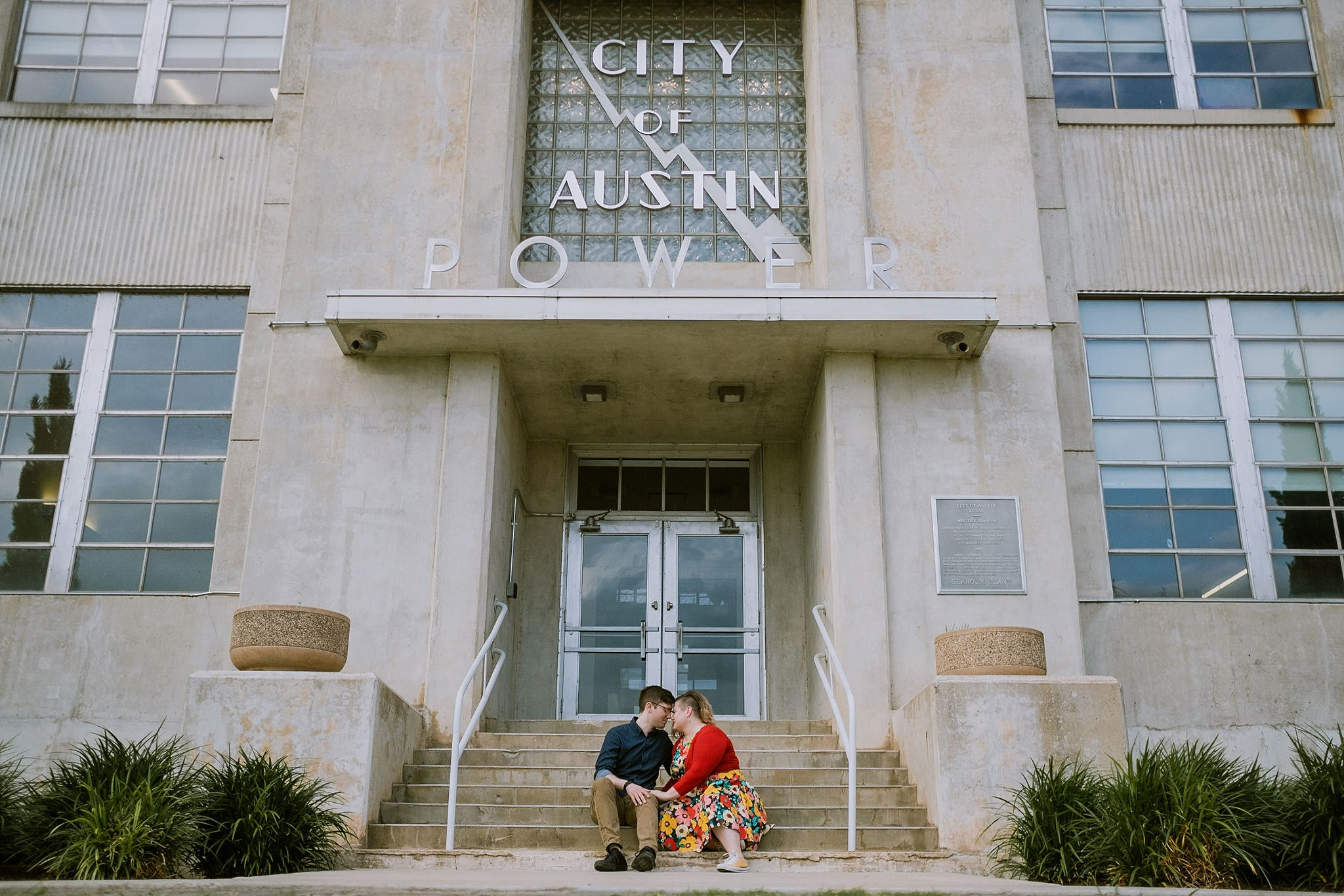 Seaholm Powerplant Engagement Photos